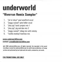 Underworld - Riverrun Remix Sampler