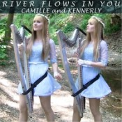 Camille and Kennerly (Harp Twins) - River Flows In You