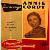 Annie Cordy - Le Tour De Chant D'Annie Cordy