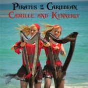 Camille and Kennerly (Harp Twins) - Pirates Of The Caribbean