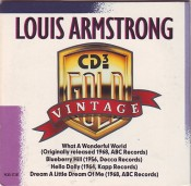 Louis Armstrong - Vintage Gold