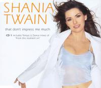 Shania Twain - That Don't Impress Me Much CD1 (UK)