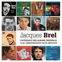 Jacques Brel - L'intégrale des albums originaux