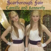 Camille and Kennerly (Harp Twins) - Scarborough Fair