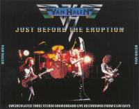 Van Halen - Just Before The Eruption