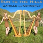 Camille and Kennerly (Harp Twins) - Run To The Hills