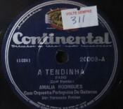 Amália Rodrigues - A Tendinha / Sei finalmente