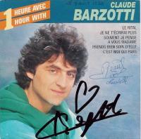 Claude Barzotti - 1 Heure Avec/1 Hour With Claude Barzotti