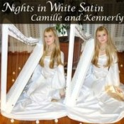 Camille and Kennerly (Harp Twins) - Nights In White Satin