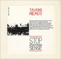 Talking Heads - Selections From Stop Making Sense
