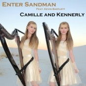 Camille and Kennerly (Harp Twins) - Enter Sandman