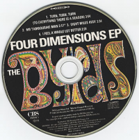The Byrds - Four Dimensions EP