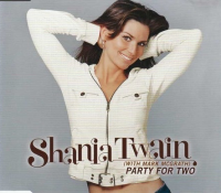 Shania Twain - Party For Two CD1 (UK)
