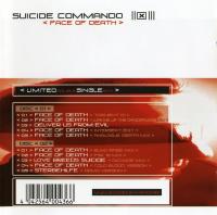 Suicide Commando - Face Of Death (limited Edition)