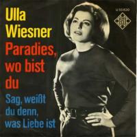 Ulla Wiesner - Paradies, wo bist du?