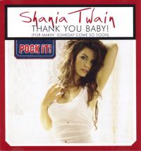 Shania Twain - Thank You Baby! (Pock-It!) (Germany)