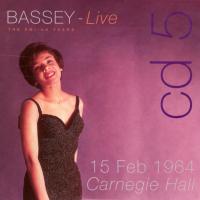 Shirley Bassey - The EMI/UA Years 1959-1979 CD5 Live at Carnegie Hall 1964