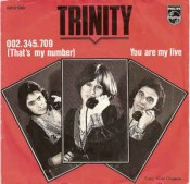 Trinity (BE) - 002.345.709 (That's My Number)