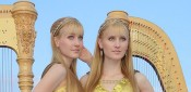 Camille and Kennerly (Harp Twins)