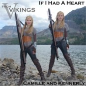 """Camille and Kennerly (Harp Twins) - If I Had A Heart (From """"Vikings"""")"""