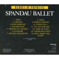 Spandau Ballet - Heroes Of Popmusic