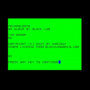 Black Lab - Technologie
